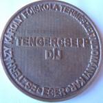 Tengercsepp díj - hátlap